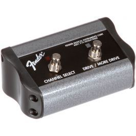 Fender 2-Button 3-Function Footswitch: Channel / Gain / More Gain with 1/4